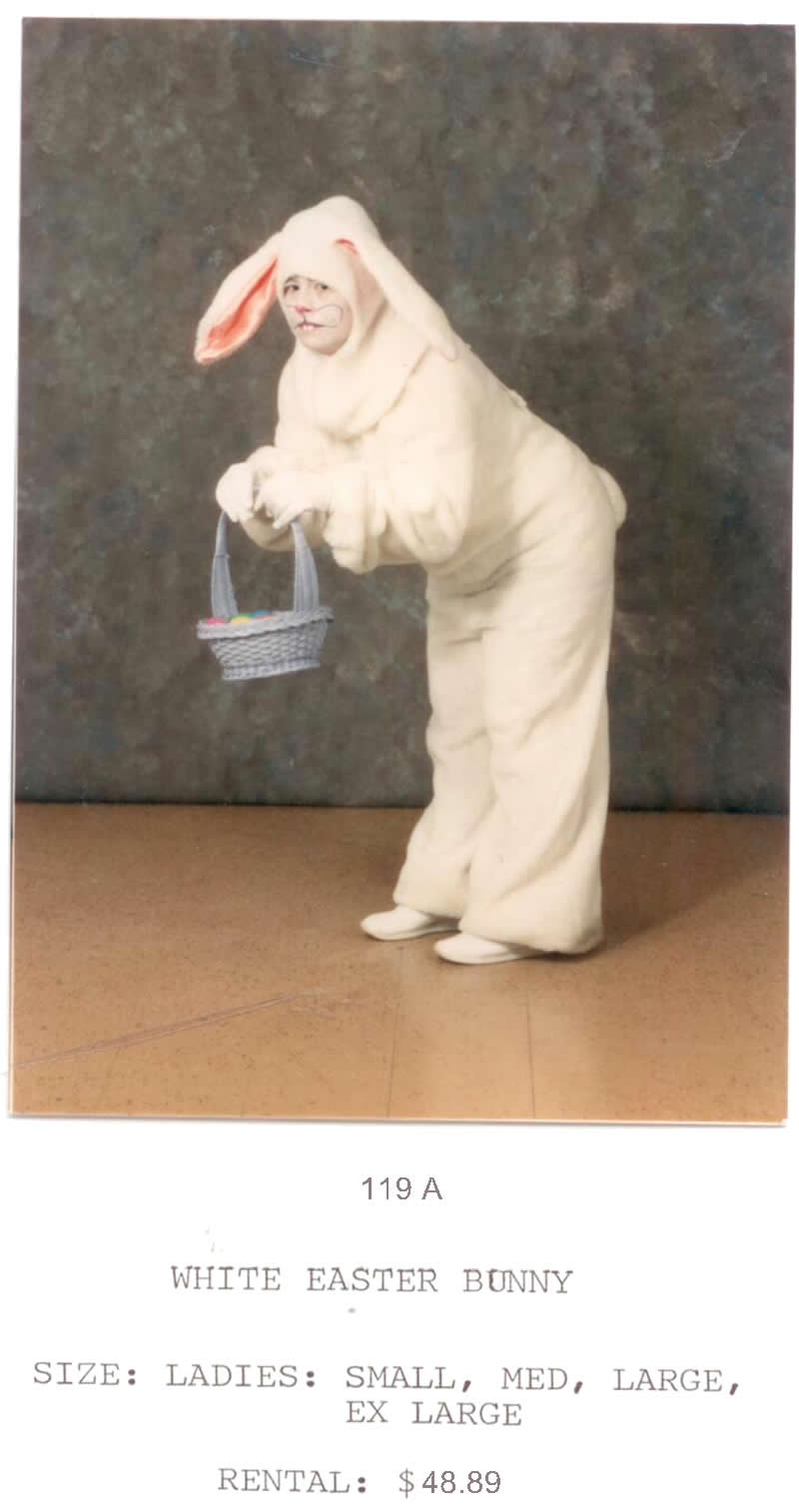 EASTER BUNNY - WHITE